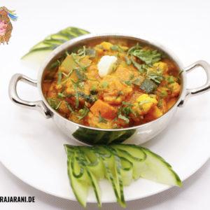 Gemüse Curry indisch