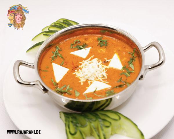 Cheese Tomato indisch bei RajaRani