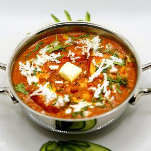 Indisches Essen Butter Paneer TIkka Masala bei RajaRani Heidelberg