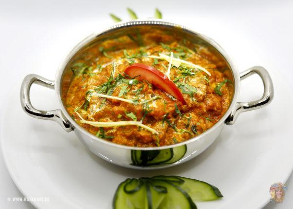Indisches Essen Bengen Bartha bei RajaRani Heidelberg