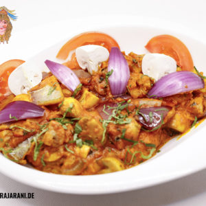 Mushroom Do Pyaza bei RajaRani