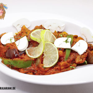 Mushroom Chilli bei RajaRani