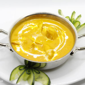 Indisches Essen Chicken Mango bei RajaRani Heidelberg