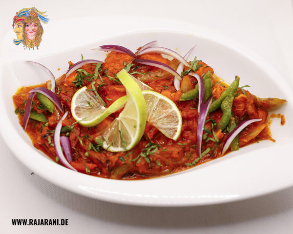 Chicken Chilli Spezial bei RajaRani