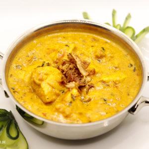 Indisches Essen Chicken Madras bei RajaRani Heidelberg