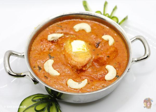 Indisches Essen Butter Chicken bei RajaRani Heidelberg