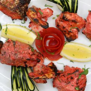 Indisches Essen Tandoori Mix bei RajaRani Heidelberg